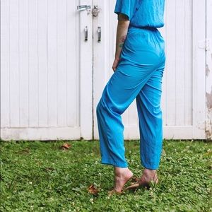 Vintage Other - Vintage Blue Jumpsuit!